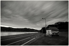 Company Bay - Storm (five15design) Tags: ocean autumn sea newzealand sky storm fall water pacific harbour pacificocean southisland dunedin aotearoa mainland thefall latesummer otagoharbour nikonnz
