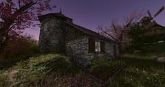 Peony Cottage (Ima Peccable) Tags: secondlife hobbits shire tolkien gardenssecondliferegiontheshiresecondlifeparceltheshireahomelysliceofmiddleearthsecondlifex64secondlifey149secondlifez21