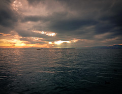 Lake Garda in Italy, sunset over the lake. (Paul Albers - Creativity) Tags: sunset italy lake landscape creativity paul garda meer zon albers landschap ondergang 500px ifttt wwwpaulalberseu