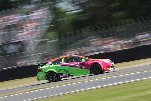 Mike Epps during the BTCC weekend at Oulton Park, June 2016