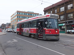 Toronto 4000 Roncesvalles Avenue (Guy Arab UF) Tags: toronto canada america trolley ttc north tram pole transit sig streetcar avenue commission tramway current collector bogie 4000 roncesvalles clrv