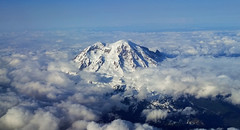 Mount Rainier (nightsky76) Tags: snow washington aerial glacier rainier cascades