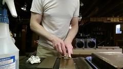 Sharpening a cambered plane blade 2016-05-11 01.49.20 (chadmagiera) Tags: plane video sharp blade woodworking dmt sharpening wetstone handplane chadmagiera diamondstone diasharp