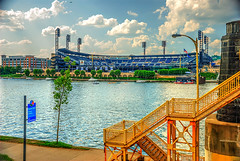 TG 16 05 28 046 (pugpop) Tags: downtown pittsburgh pennsylvania hdr pncpark alleghenyriver 2016