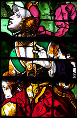 Mary Magdalene recognises Christ in the Garden (English, 16th Century) (Simon_K) Tags: cambridge college church university king churches chapel stainedglass tudor kings cambridgeshire eastanglia 16thcentury cambs kingss