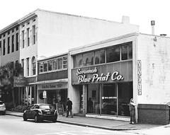 Savannah Blue Print Co. (davemihaly) Tags: kodak kodaktmax film bw blackandwhite savannah savannahga georgia canon canoneoselaniie canonelaniie
