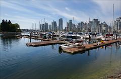 De-Constructing The Dock (Clayton Perry Photoworks) Tags: summer canada skyline vancouver boat bc falsecreek explorebc explorecanada dailyhivevan