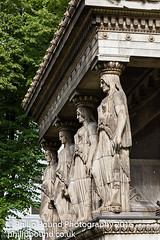 Statues at St Pancras Parish Church in London (Philip Pound Photography) Tags: london church parish camden stpancras eustonroad