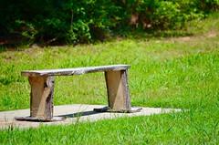 Happy Bench Monday (I'magrandma) Tags: bench monday rustic homemade happy imagrandma wooden