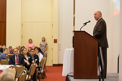 2016 - August - CHS - Dean Jolly Medalion Ceremony-10.jpg (ISU College of Human Sciences) Tags: dunn jolly laura back convocation dean leath president stephenleath steven welcome