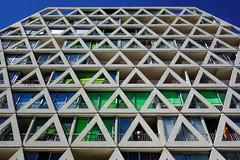 Archi ! (Stphane LANDMANN) Tags: architecture archi lgm lagrandemotte grandemotte sky skyporn btiment extrieur structure lignes gomtrique