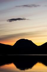 Senja (moritz k.) Tags: fjordbotn mountain norway reflection sea senja solnedgang sunset