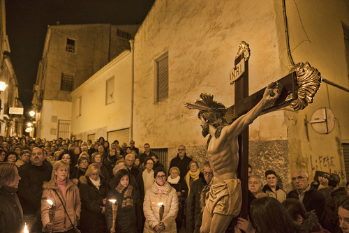 """(2016-03-18) - VII Vía crucis nocturno - Juan Miguel Martínez Lorenzo (04) • <a style=""""font-size:0.8em;"""" href=""""http://www.flickr.com/photos/139250327@N06/29243466414/"""" target=""""_blank"""">View on Flickr</a>"""