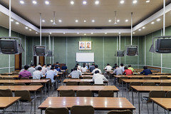 Inside the Grand People's Study House, Pyongyan (George Pachantouris) Tags: dprk north korea pyongyang kim ilsung jongil jongun communism socialism