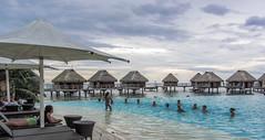 Exercise time at Moorea pearl beach Tahiti (sapphire_rouge) Tags:    frenchpolynesia tahiti  younggirl francehpolynesia   pearlbeach beach moorea resort society pool societyislands atoll polynesia island sunrise