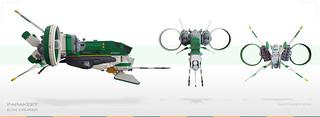 Parakeet | ECM Cruiser > Them angles