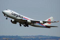 Boeing 747-400 - Cargolux (David B. - just passed the 5 million views. Thanks) Tags: avion aviation avgeek plane airplane flight fly flying sky toulouse midipyrénées hautegaronne france a77 a77v sonyalpha77 sonydslta77v sony takeoff takingoff runway aircraft airport blagnac boeing boeing747 boeing747400 cargo cargolux lxucv 747 747400
