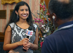 Stop the Hate®: Youth Speak Out 1st Runner Up Apoorva Vallampati with TV20