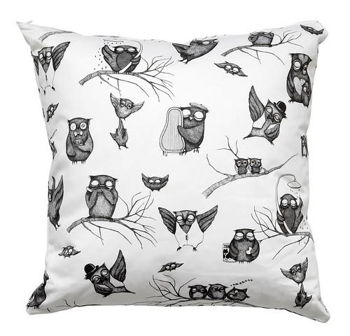 Coussins Owls