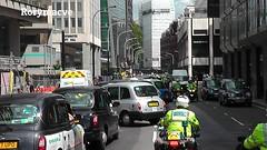 London Taxi Cab strike (Rorymacve Part II) Tags: auto road bus heritage cars sports car truck automobile estate transport historic motor saloon compact taxicab blackcab roadster londoncab lti motorvehicle ltitxii worldcars londontaxisinternationalltitxi