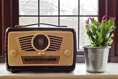 Ultra Twin R825, Bloxwich 29/03/2015 (Gary S. Crutchley) Tags: heritage history radio vintage dead 50mm nikon raw technology twin 1957 wireless restoration af nikkor ultra d800 f18d r825