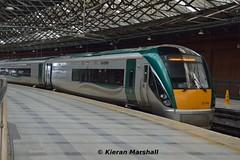 22034 at Cork, 19/5/15 (hurricanemk1c) Tags: irish train cork rail railway trains railways irishrail rok rotem 2015 icr iarnrd 22000 22034 ireann iarnrdireann premierclass 5pce 1920corkheuston