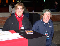 Volunteers at our Donation Stands