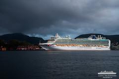 Azura (Aviation & Maritime) Tags: cruise norway twilight po cruiseship bergen azura pocruises