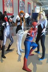 Spider guys assemble! (Nelo Hotsuma) Tags: show fiction woman girl book fan dallas comic expo cosplay dcc spiderman fair center science fantasy convention scifi trade con