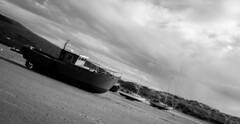 #barmouth #coastal #wales #stranded #harbour #tidal #monochrome #dramatic #sunset (jessicalewis10) Tags: sunset monochrome wales harbour dramatic coastal stranded tidal barmouth
