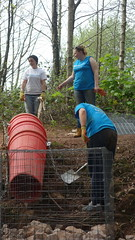 Torfaen. Bags of Help 2. Friends of Henllys LNR with Barclays Partner Finance (Keep Wales Tidy) Tags: building team lnr gabions torfaen