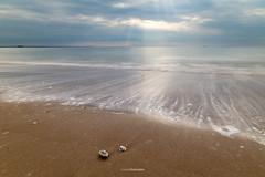 Endless cycle (Tekila63) Tags: ocean longexposure seascape beach wave plage coquillage poselongue nd1000