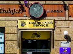 Wrocaw (isoglosse) Tags: sign poland polska schild polen sansserif wrocaw breslau znak kreska u0141