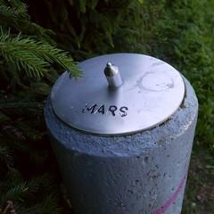 Mars (neppanen) Tags: mars suomi finland helsinki ursa planeetta pajamki thtitiede discounterintelligence sampen helsinginkilometritehdas aurinkokuntamalli pajamenaurinkokuntamalli
