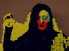 Portrait Manipulation (TimBurton'sMissMarple) Tags: portrait photoshop surreal manipulation portraiture data manip morph pixelation dadaism moshing