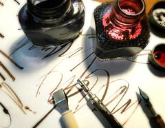 escritorio-4 (jorge_regueira escrito a mano) Tags: ink calligraphy escritorio tinta caligrafa plumilla