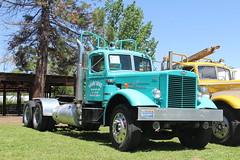 IMG_2800 (RyanP77) Tags: show california b white truck log model shiny trucker international chevy chrome r pete logger gmc peerless kw peterbilt ih kenworth cabover bullnose fruehauf
