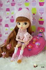 Julieta (> Lily <) Tags: pink anna doll lily si mini inside pullip julieta lalaloopsy