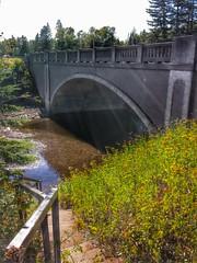 Bridge No. 3589-Silver Creek Township- Lake County MN (1) (kevystew) Tags: bridge minnesota twoharbors lakecounty nationalregister nationalregisterofhistoricplaces stewartriver