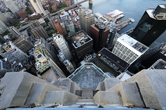 Above the Pine (Tony Shi Photos) Tags: 70pine 70pinestreet 70pinest fidi financialdistrict lowermanhattan manhattan downtown downtownmanhattan wallstreet waterstreet southstreetseaport eastriver buildings skyscrapers architecture            nowyjork novayork