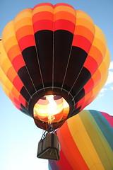 Balloon (historygradguy (jobhunting)) Tags: ny newyork balloons flying balloon flight upstate hotairballoon hotairballoons balloonfest ballstonspa saratogacounty saratogacountyfairgrounds