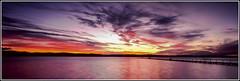 LJ 2 (Dusty Dog Imaging) Tags: sunset panorama seascape film water landscape coast fuji jetty central australia panoramic velvia nsw g617