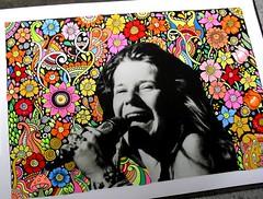 Janis Joplin (Ariane Naranjo) Tags: doodle doodles janisjoplin doodleart zentangle zendoodles