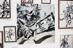 Calligraphy Art (Design Festa) Tags: art japan illustration japanese tokyo artwork drawing japaneseart tokyobigsight artfestival japanartfestival japaneseartfestival