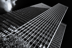 Tower (Kevin R Thornton) Tags: d90 urban nikon london 201508 street city 2015 architecture office tower england unitedkingdom gb