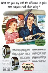 Vintage Ad - 1950s General Tire (Christian Montone) Tags: ads advertising vintage vintageads vintagegraphics