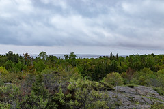 First views (ZensLens) Tags: camping lake fog landscape scenic superior coastal amethyst lakesuperior rugged ontarioparks