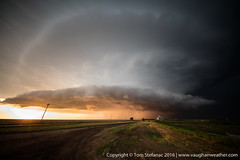 "Leoti Kansas Supercell Storm at sunset • <a style=""font-size:0.8em;"" href=""http://www.flickr.com/photos/65051383@N05/27581731746/"" target=""_blank"">View on Flickr</a>"
