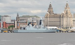 HMS Duncan (D37) (Kay Bea Chisholm) Tags: liverpool waterfront destroyer pierhead liverbuilding royalnavy rivermersey type45 airdefence daringclass