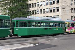 1501 (KennyKanal) Tags: tram grn aw bv bvb ffa altenrhein basler verkehrsbetriebe schienenfahrzeug drmmli